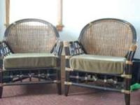 These are two pier one chairs I bought last summer. I
