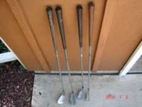 Each club is $4.00 Two Pitching Wedges and one 7 and 8