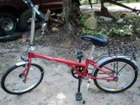 I have two portable bicycles, they fold up for travel,