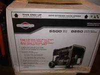 I HAVE TWO BRIGGS & STRATTON PORTABLE GENERATORS ONE IS