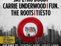 Global Citizen Festival Great Lawn at Central Park, New