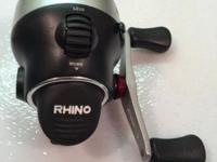 The Rhino RSC3 Reel operates on a 3-bearing system that