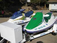 1997 and 1995 Bombardier Seadoo's, 2 seater and three