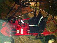 i am selling one go kart frame. i have a engine for it