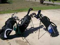 THESE ARE TWO GOOD SET OF CLUBS THAT I DID NOT USED BUT