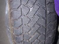 Two sets of Snowtrakker snow tires for sale. Get a good