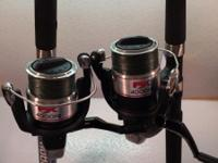The Shimano FX 4000FB spinning reel has a Gear Ratio of