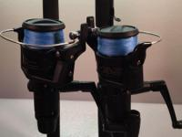 The Shimano IX 4000R reels in the two combos have a