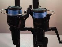 The reels in the two combos are Shimano IX 4000Rs. The