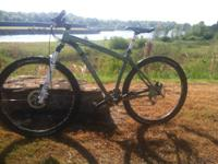 I have a rockhopper 29 with SRAM x5 componants and a