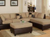 2-PIECE SECTIONAL SOFA/CHIASE ON SALE  THIS SECTIONAL