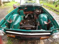 TWO (2) Triumph TR6 cars: 1972 from TN and a 1974 from
