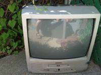 I have two TVs for sale that have built in DVD players.