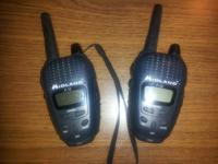 Super nice Midland F-12 walkie-talkies! If bought prior