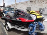 Two Yamaha Jet skis w/ Trailer Yamaha GX1800 FZS