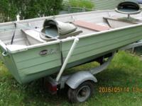 12' ALUMINUM BOATS - $1000 TAKES BOTH: TWO BOATS AND