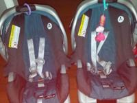 I have 2 Graco Infant safety seat. They are in