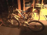 Two Mountain bikes 65obo for each or 100obo for the