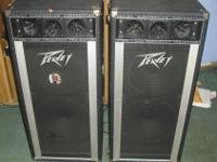 I am selling two T-300 Peavy High-Frequency Projector