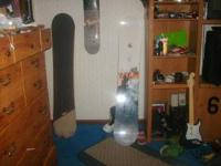 Two snowboards for sale. One's a HEAD True, only used 3