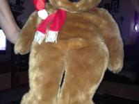 I have a 2 ft tall Santa Ty beanie bear it is in