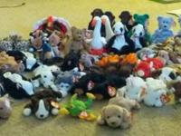 63 ty beanie babies great condition tags still on  1