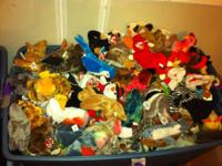 We have hundreds of Ty Beanie Babies ready to sell. If