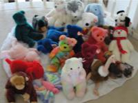 I am selling a a huge collection of stuffed animals,