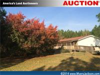 Georgia Real Estate Auction of land and manufactured
