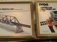 I have for sale a Tyco ho scale 17 piece bridge and