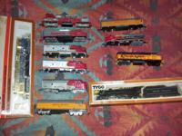 Several train sets for sale. I am selling these as one