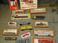 Tyco Train with Tracks Cars Extras as shown, WE HAVE
