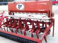 Tye no till grain drill, 3pt hitch, very nice and