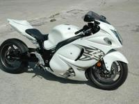 one owner 2011 Suzuki Hayabusa used for development on