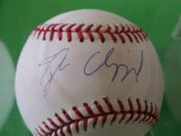 Tyler Clippard New York Yankees BASEBALL autograph has