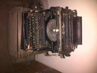 i have these two typewriters and the wooden typewriter