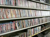 Hundreds of DVD's ready to go from our warehouse  $2