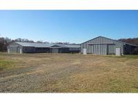 Poultry Farm For Sale Rt3 Hartman, AR 72840 USA Price: