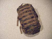 Marine Corps MARPAT ILBE Pack. The Improved Load