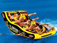 U Slalom 3 Inflatable Triple Rider Towable.  ABILITY