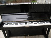 A excellent piano, tuned and regulated and ready for
