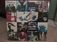 U2 Achtung Baby original 1991 vinyl. This is the