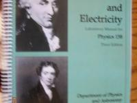 Mechanics and Electricity for Physics 158 at University