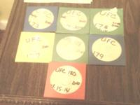 Selling different UFC battles on DVD. Have 7 different