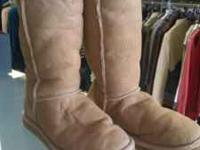 Have a pair of tan ugh boots in great condition. They