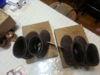2 pairs of UGG like new perfect condition # 12 for