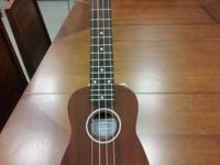 GENUINE UKULELE - MADE by HULA BEACH !! NEW !! Geared