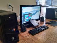 Type:Desktop PCsType:Assembled- 27 inch 1080p monitor-