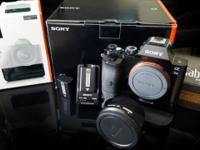 Like new, Sony A7s with box and all original