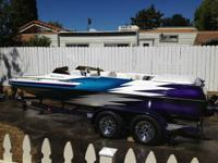1999 21' Ultra RS, Open Bow, 5.7L Mercruiser Motor with